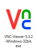 01 Real VNC Viewer起動(32bit版)